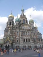 Church of the Savior on Spilled Blood by Party9999999
