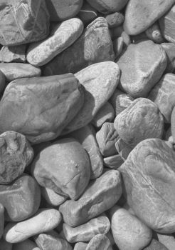 Stones in graphite by markstewart