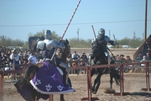 Jousting - 9 by Silver-Stock-Images