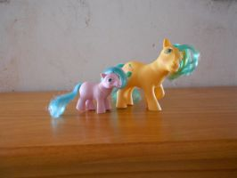 my little pony collection: playset ponies 2 by theladyinred002