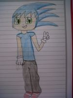 human sonic by sonicandmlplover69