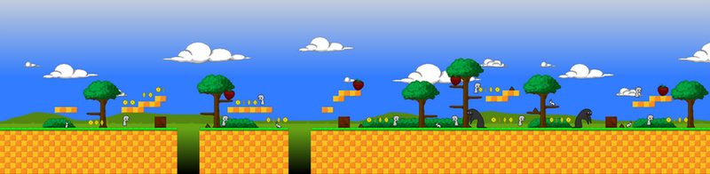 8bit HTML5 Game map by Infra-Raven