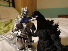 MonsterArts VS Chogokin 4 by GIGAN05