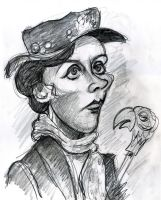 Mary Poppins by Caricature80