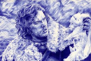 Jon Snow by lilhydra