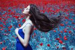 Into the Wild Red 10 by Michela-Riva