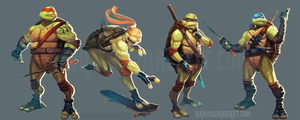 Tmnt by DanHowardArt