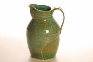 Green Pitcher by Recycled-Oxygen