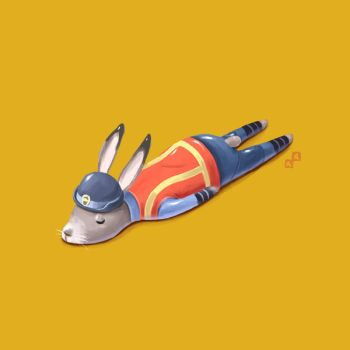 Judy Hopps by Aaron-Randy