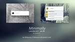 Minimally for Launchy by Blekwave