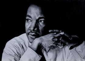 Martin Luther King by SophieReddyArt