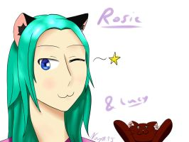 Request: Rosie and her cat Lucy by NayKiler