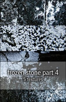 frozen stone textures part4 by rainbows-stock