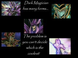 Dark Magician and other forms by Dark-Magician-1991