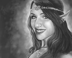 RoyalMockery Portrait - Elves are real! by dendorrity