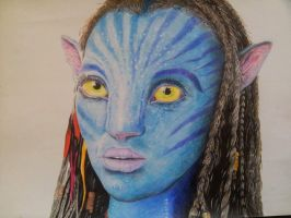 Neytiri from Avatar by HenningBlom