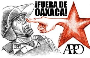Out of Oaxaca by Latuff2