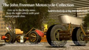 The John Freeman Motorcycle Collection by Andrewnuva199