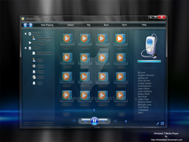 Windows7 Media Player by amine5a5