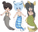 [Deep Sea] Batch 1 by ShatteredSightAdopts