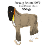 HWB Foal Design ID 306# FILLY OR COLT? by LiaLithiumTM