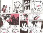 Black, Red and White nightmare by Iwama-chan