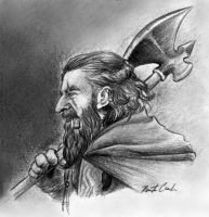 Turg'urs Firebeard - The Dwarf by rfcunha