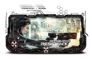 Resident Evil - Retribution by pedrowo
