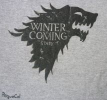 Winter is Coming T-shirt by PequeCol
