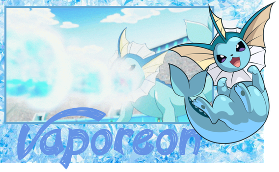 :Vaporeon: {New ID} by Nekochnyan