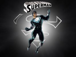 Black Suit Superman by Superman8193
