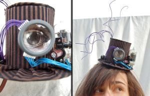 Tiny Top Hat: The Steampunk Third Eye by TinyTopHats