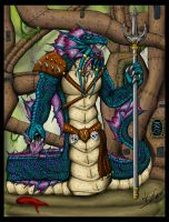 WoW male Naga color by Alex-KZG
