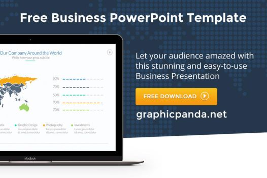 Free Business Powerpoint Presentation Template by LouisTwelve-Design