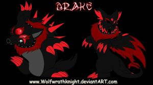 Drake the Wolfwrath and Robberycat by ScarletSpike