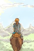 See that mountain? by osakaqcvow