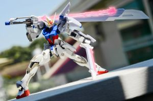 Perfect Sword Strike Gundam by phtoygraphy