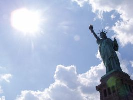 statue of liberty by CousCoussina