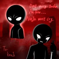 Ninja wont cry by 359Dark