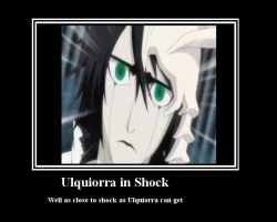 Ulquiorra in Shock by techgirl3