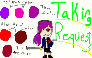 Taking Requests! by Petpettails123