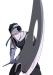 Bloody Momochi Zabuza(transparent) by Fomle-chan