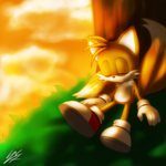 Sleeping Tails by Hanybe