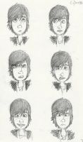 Hiccup faces 1 by little-ampharos