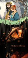 Bagginshield (+ SmaugBilbo):: Sleeping Beauty AU by caylren