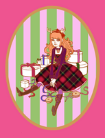Holiday Lolita by raevynewings