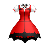 [MMD] Vampire Girl Dress DL by Tiny-face