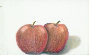 Apples in color by Carryn
