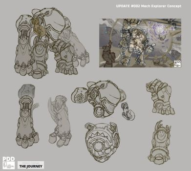The Journey Challenge - update002 - Mech Suit by phungdinhdung