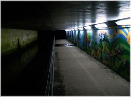 Underpass II by angelwillz